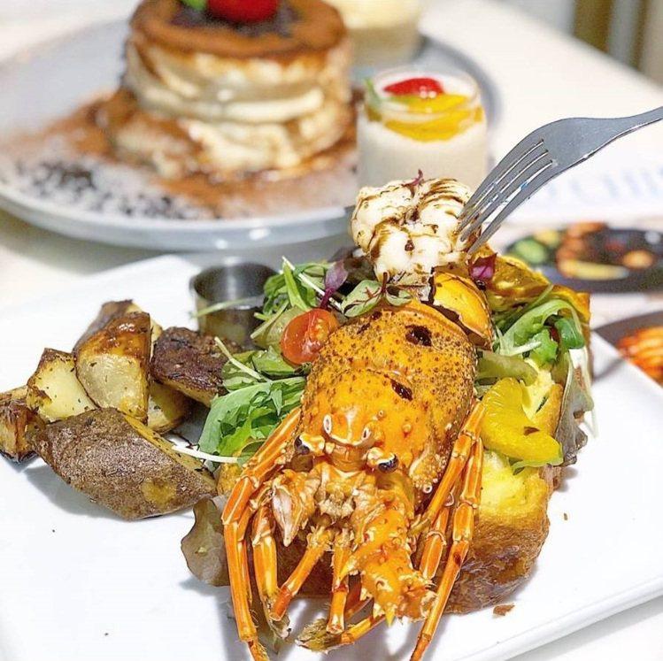 台中「樂丘廚房」的豐盛早午餐跟舒芙蕾是IG打卡熱門。圖/FB/Blog: 舞食...