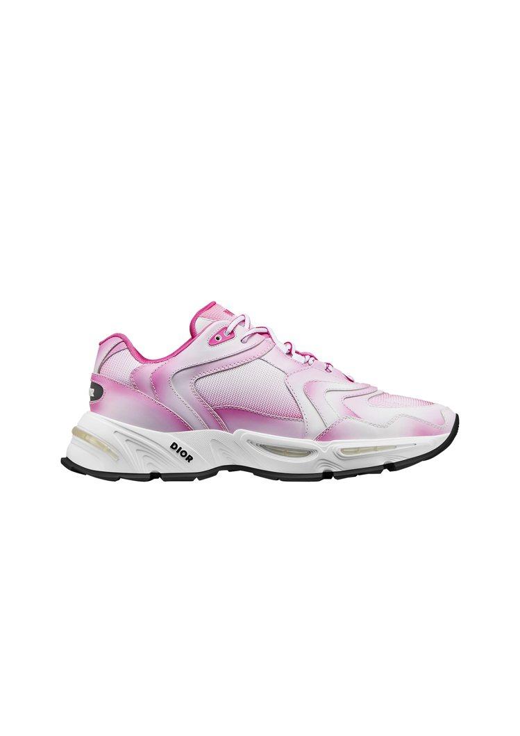 CD1粉色漸層網孔休閒鞋,售價40,000元。圖/DIOR提供