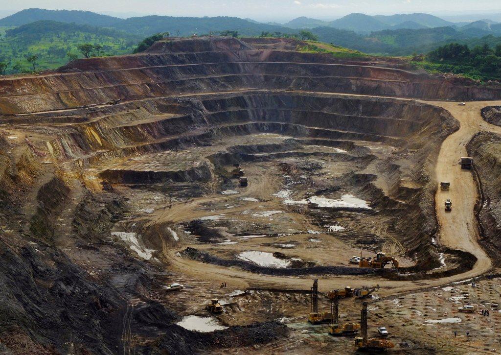 剛果的鈷礦場。路透。