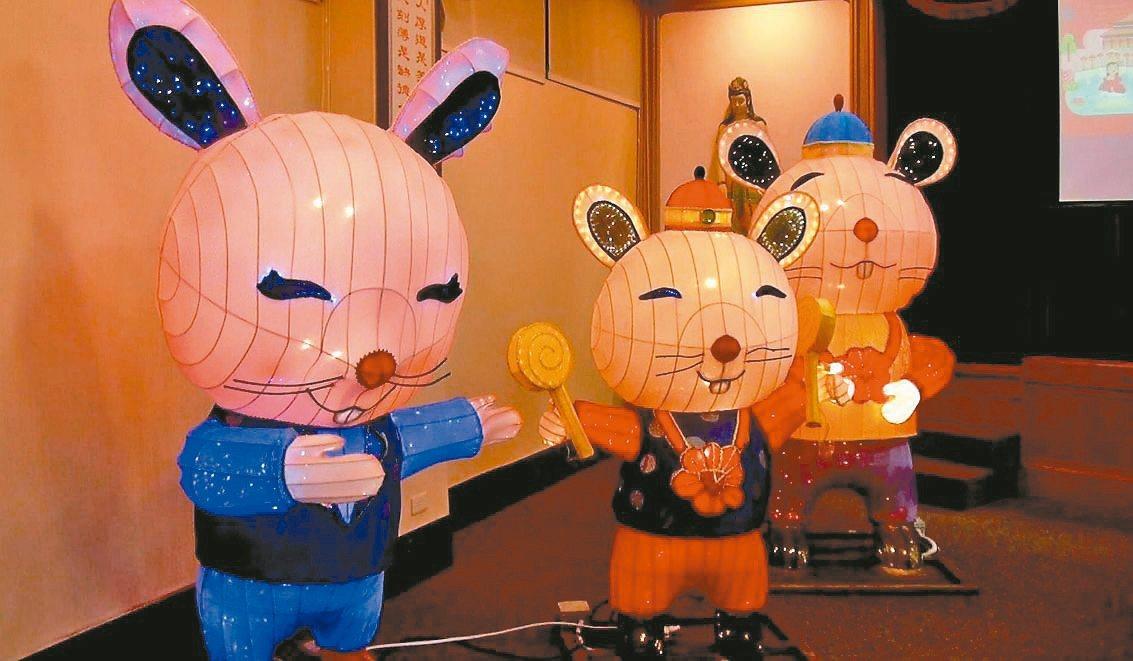 迎接金鼠年,佛光山平安燈法會25日登場。 記者王昭月/攝影