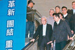 <u>吳敦義</u>辭國民黨主席 林榮德代理