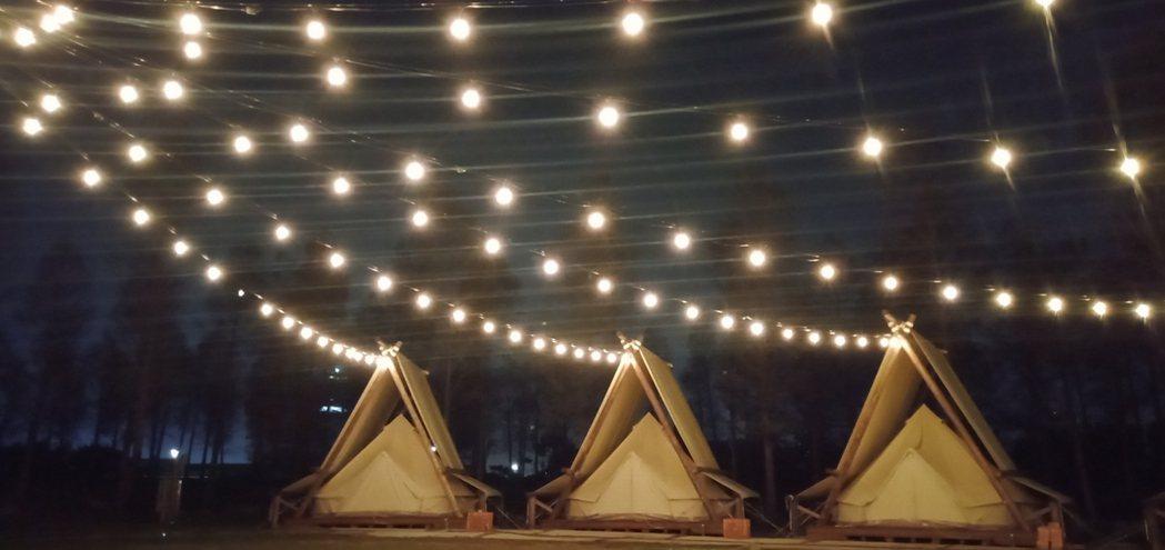 美式AirFarm帳篷野餐區等待大家光臨 淨園/提供
