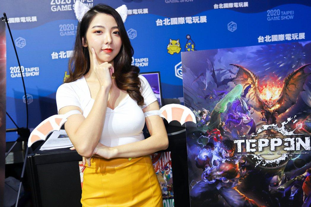 日本手遊大廠GungHo首次參加台北國際電玩展。 彭子豪/攝影