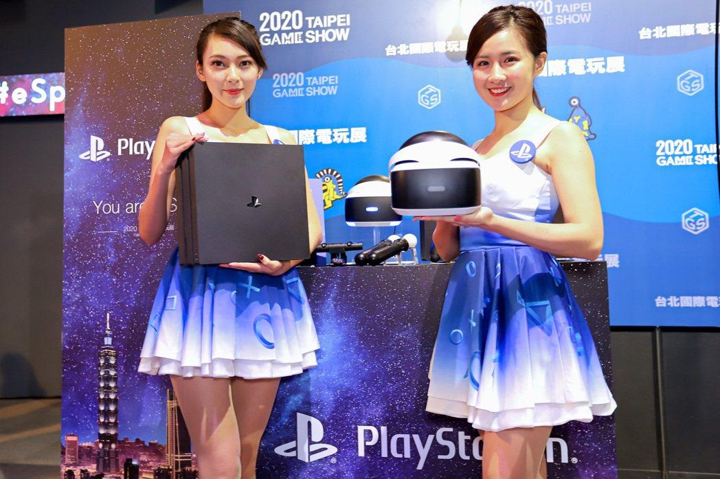 台灣索尼互動娛樂以主題「You're A STAR」強打多款新遊戲。 彭子豪/攝...