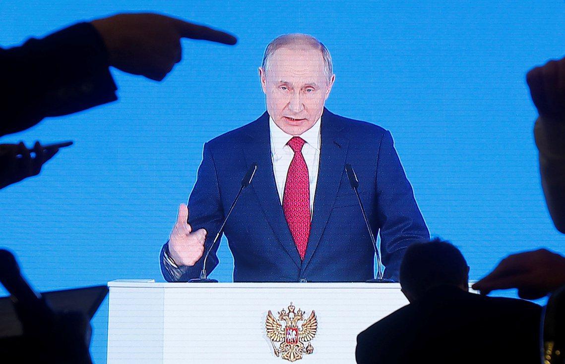 「我主張修改俄羅斯的聯邦憲法!」普丁於15日的記者會如此宣示。 圖/路透社