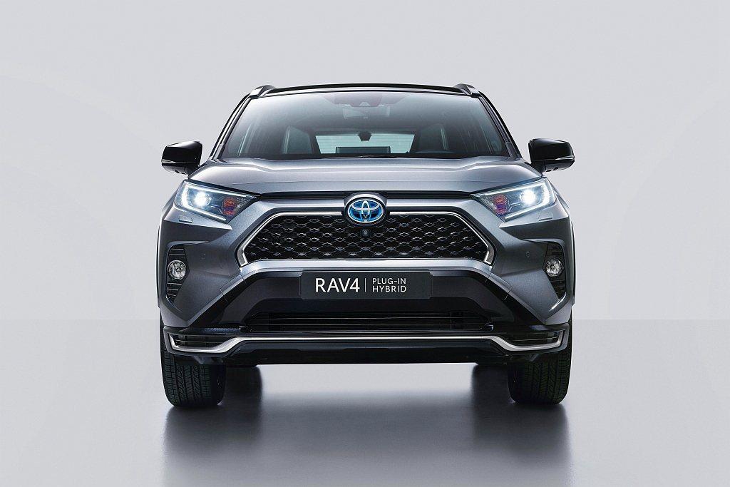 Toyota RAV4車系中首款插電式複合動力系統的RAV4 Plug-in H...