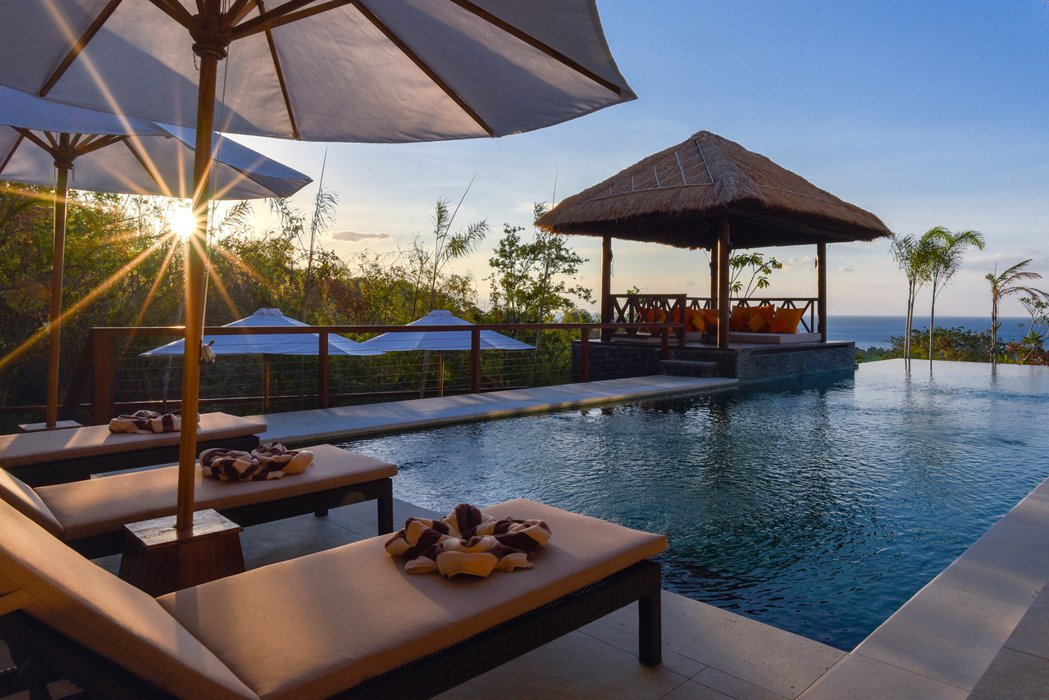 印尼峇里島:無敵海景私人泳池別墅。 Airbnb /提供