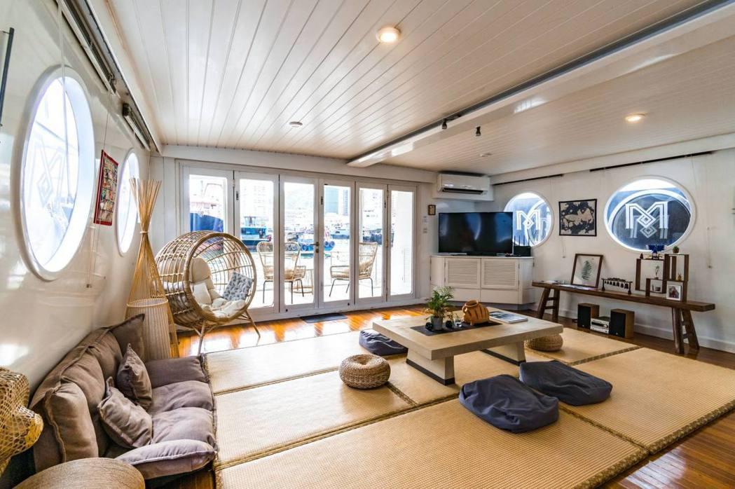 香港:討海人日式船屋。 Airbnb /提供