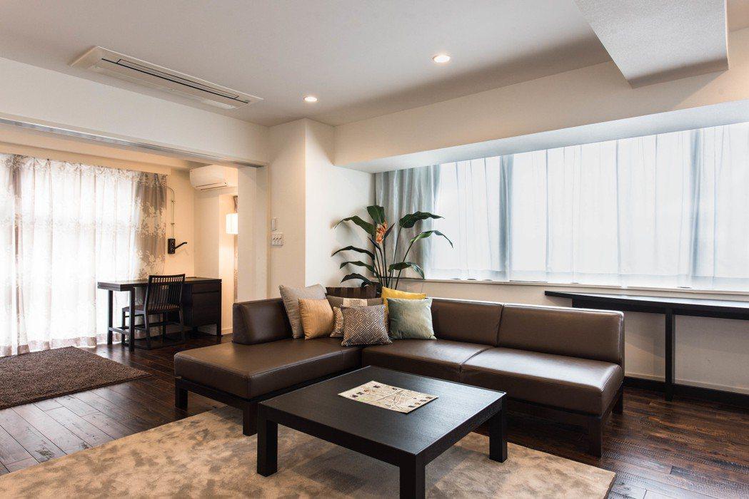 日本東京:都市中心奢華質感公寓。 Airbnb /提供