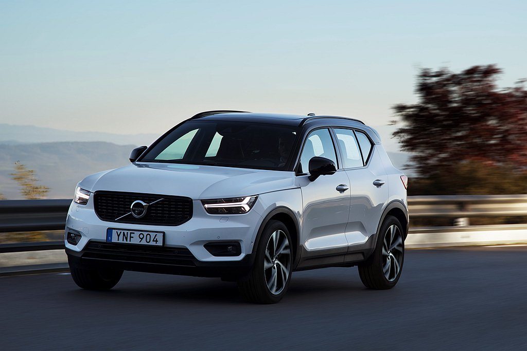 Volvo XC40在2019年銷售大幅成長84.4%,銷售總量達139,847...