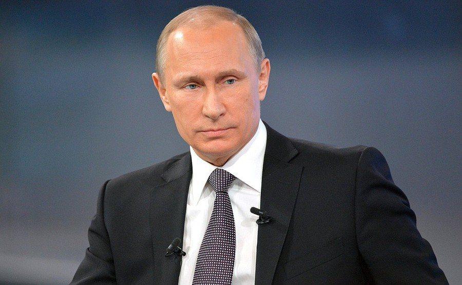 俄國現任總統普亭突然拋下憲政震撼彈。(photo by Kremlin)