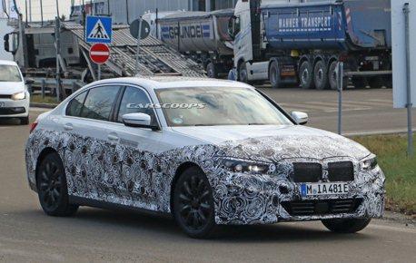 純電車型再一款? 全電動BMW 3 Series原型車間諜照曝光!