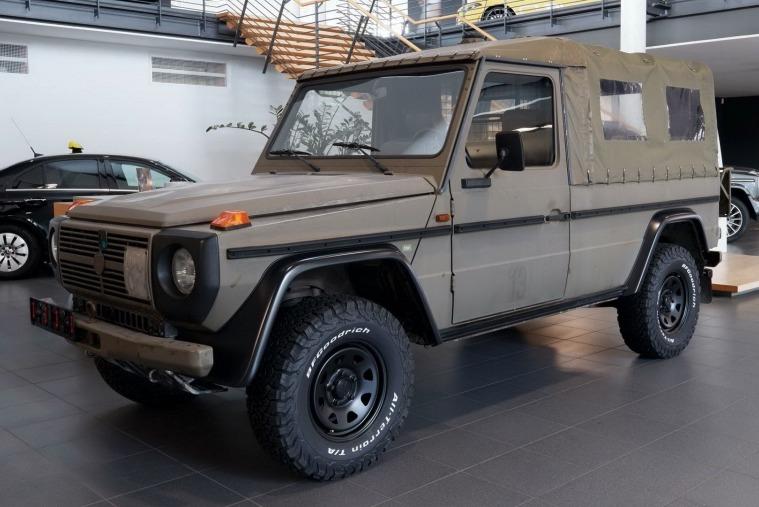 退役軍用Mercedes-Benz G-Class熱賣中 售價台幣50萬元起!