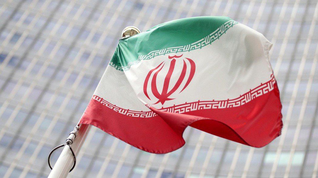 伊朗國旗。路透
