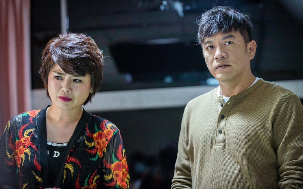 「想見你」配角演出也很關鍵,嚴藝文(左)、張翰分別飾演「陳韻如」的媽媽與舅舅。圖...