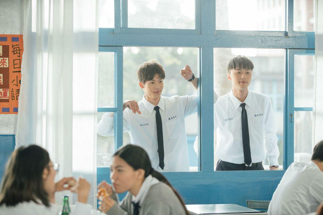 許光漢(左)、施柏宇都是戲劇圈頗有潛力的新生代小生。圖/衛視中文台提供
