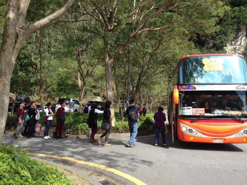 太魯閣國家公園春節期間將有交通管制,民眾可搭乘免費遊園專車入園遊賞。圖/太管處提供