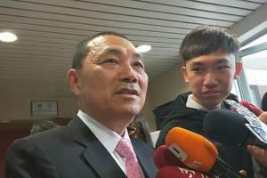 影/林榮德擔任國民黨代理主席 <u>侯友宜</u>僅回:做好市政