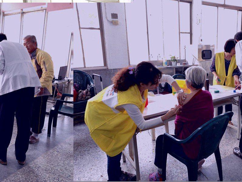 嘉義縣衛生局與全聯福利中心合作,今天起到20日,在朴子、新港、水上、竹崎、梅山等6個門市,設置流感疫苗接種站。圖/縣府提供