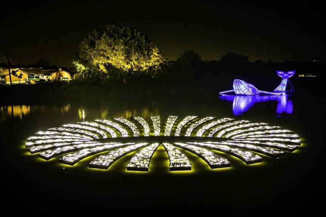 台南鹽水月津港燈節每年都吸引逾50萬人次遊客 。圖/文化局提供