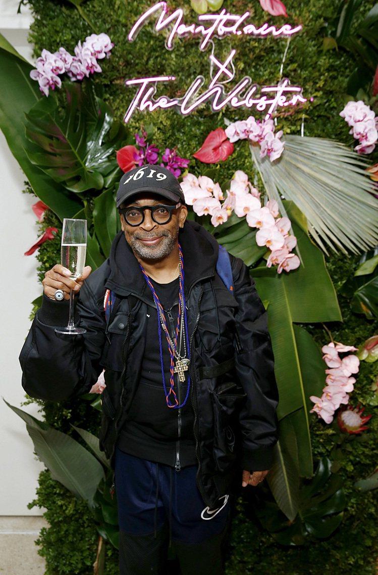 美國名電影製作人Spike Lee也出席了發表現場。圖╱萬寶龍提供。