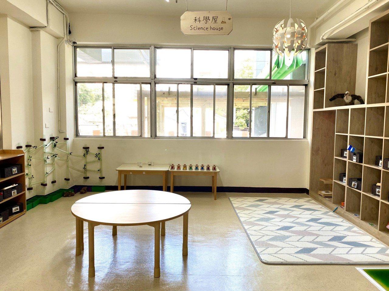 啟發孩子科學技能的「科學屋」。記者魏莨伊/攝影