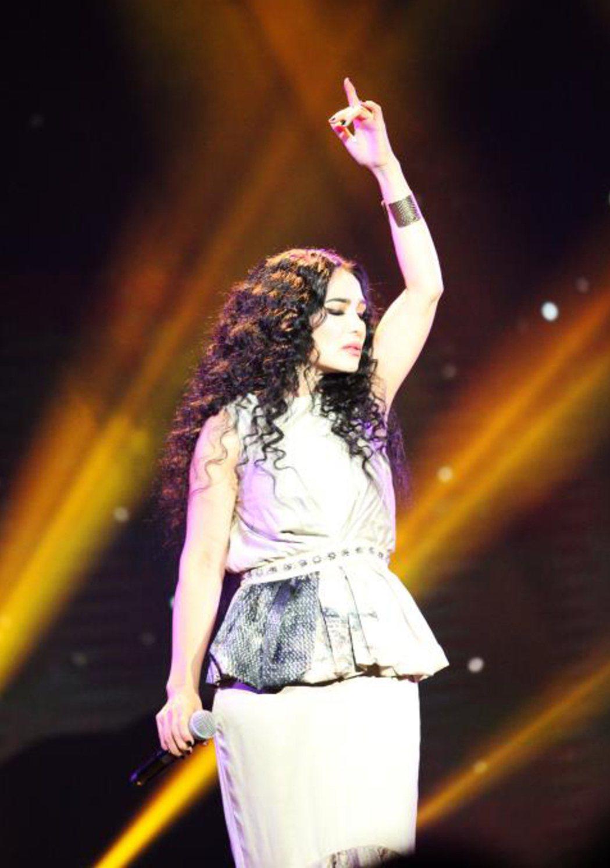 潘越雲將於4月18日舉辦大型個唱。圖/海樂提供