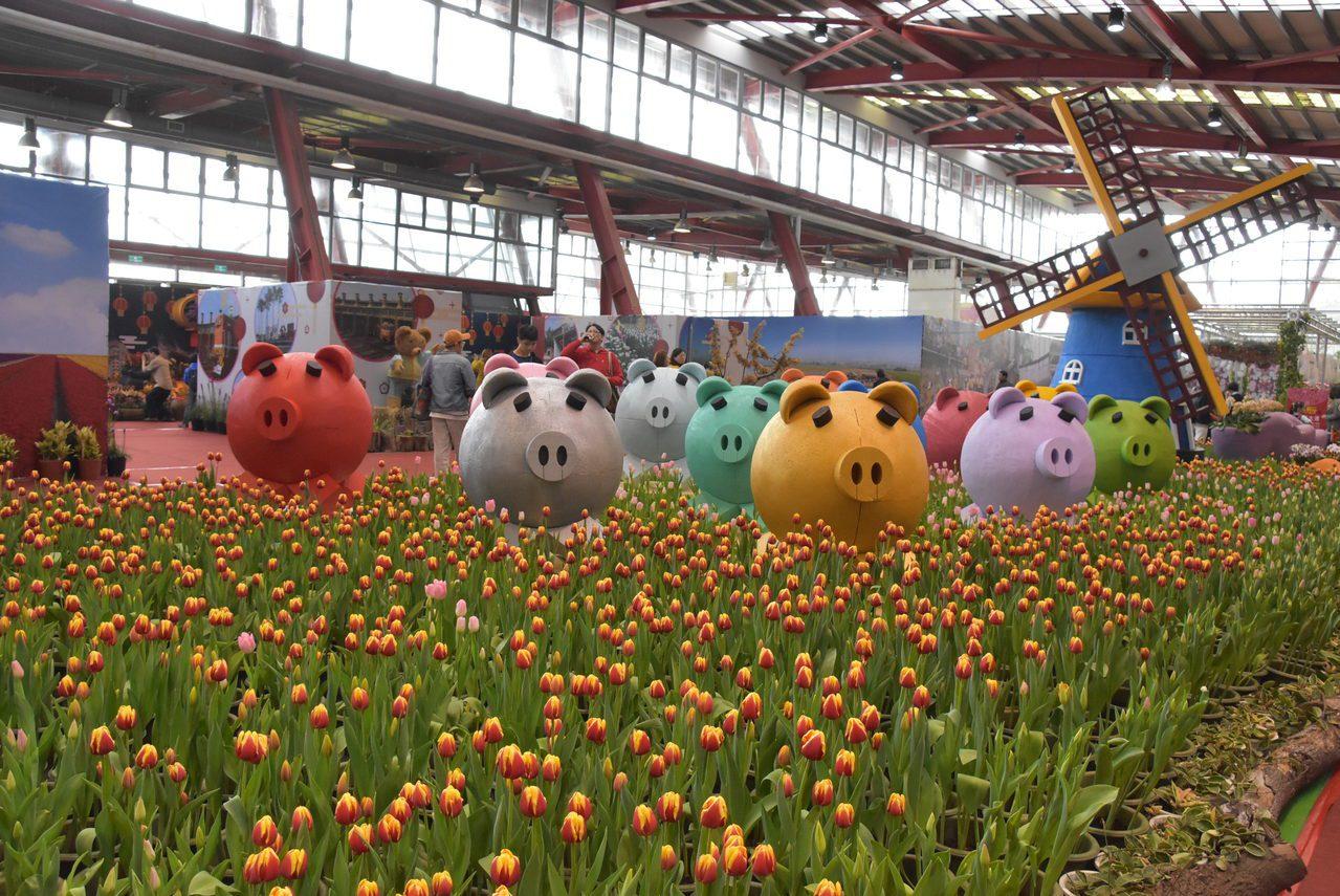 名列春節國民旅遊十大景點之一的「花在彰化」活動將從1月25日大年初一到2月9日在...
