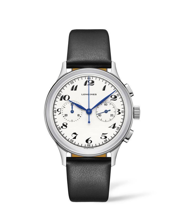 浪琴表Heritage Classic Chronograph 1946計時碼表...