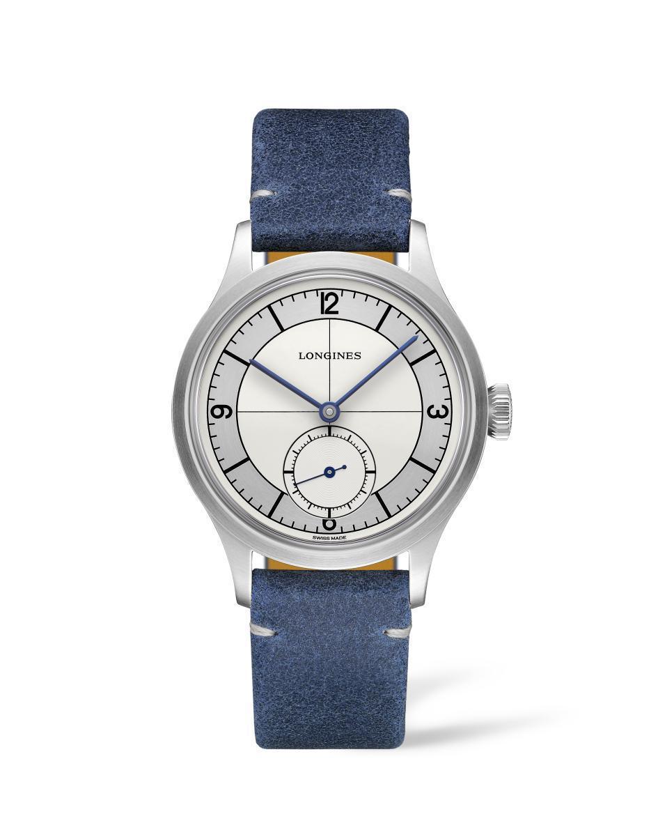 浪琴表Heritage Classic復刻經典腕表,不鏽鋼表殼,動力儲存64小時...