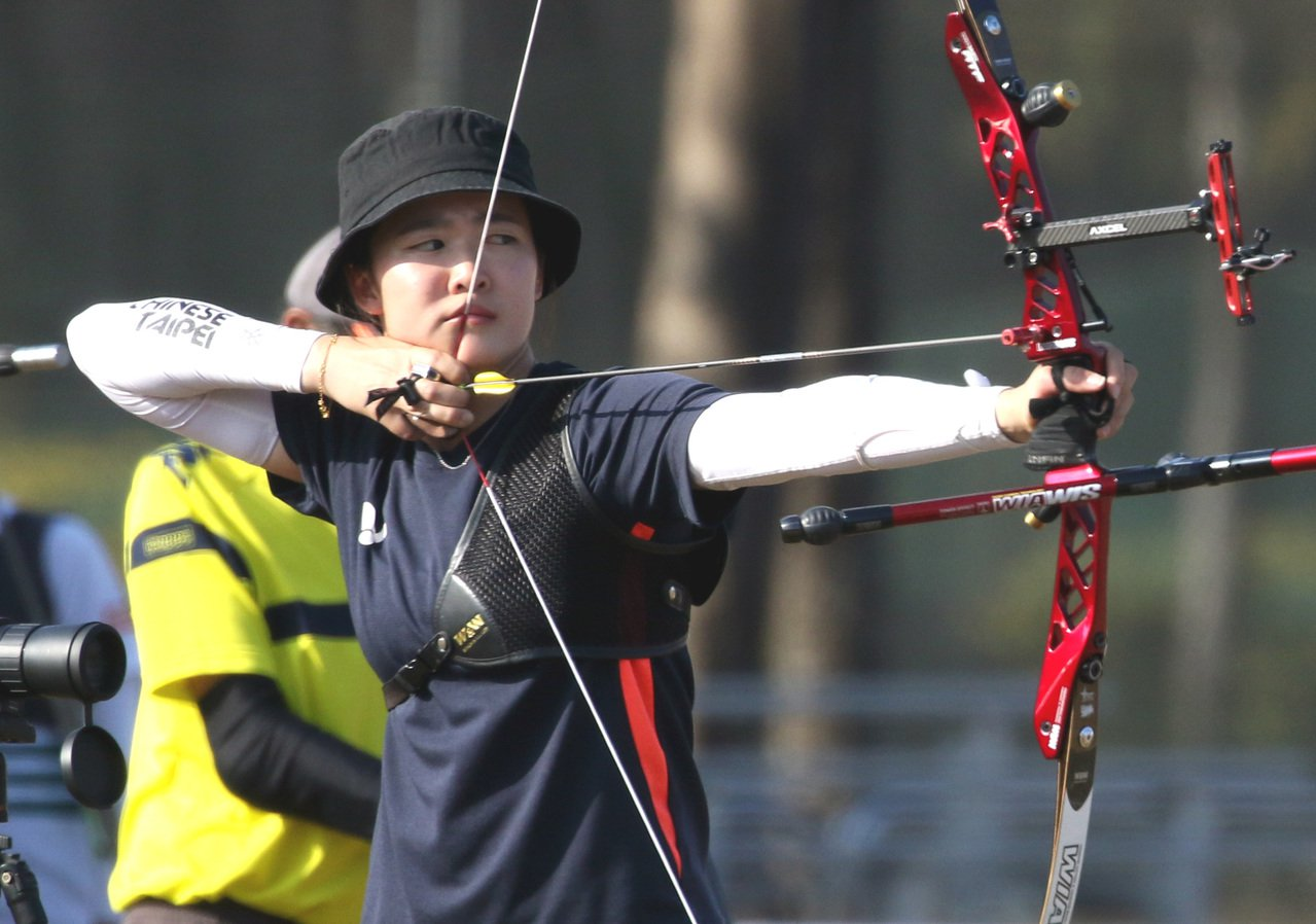 彭家楙無緣東奧正選國手。圖/中華射箭協會提供