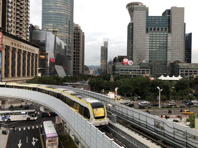 新北市府稍早收到交通部核發營業許可函,19日確定會開放讓民眾免費試乘。圖/新北捷運局提供