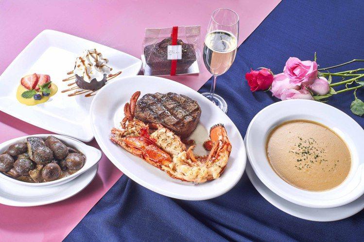 茹絲葵牛排1月17日到2月16日間限時推出4款節慶限定套餐。圖/茹絲葵牛排提供