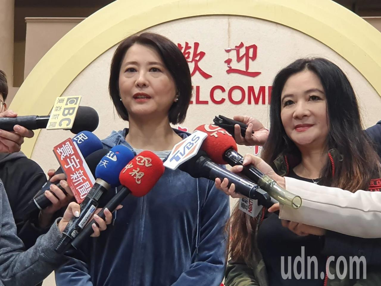 台北市議員王鴻薇(左)。記者楊正海/攝影