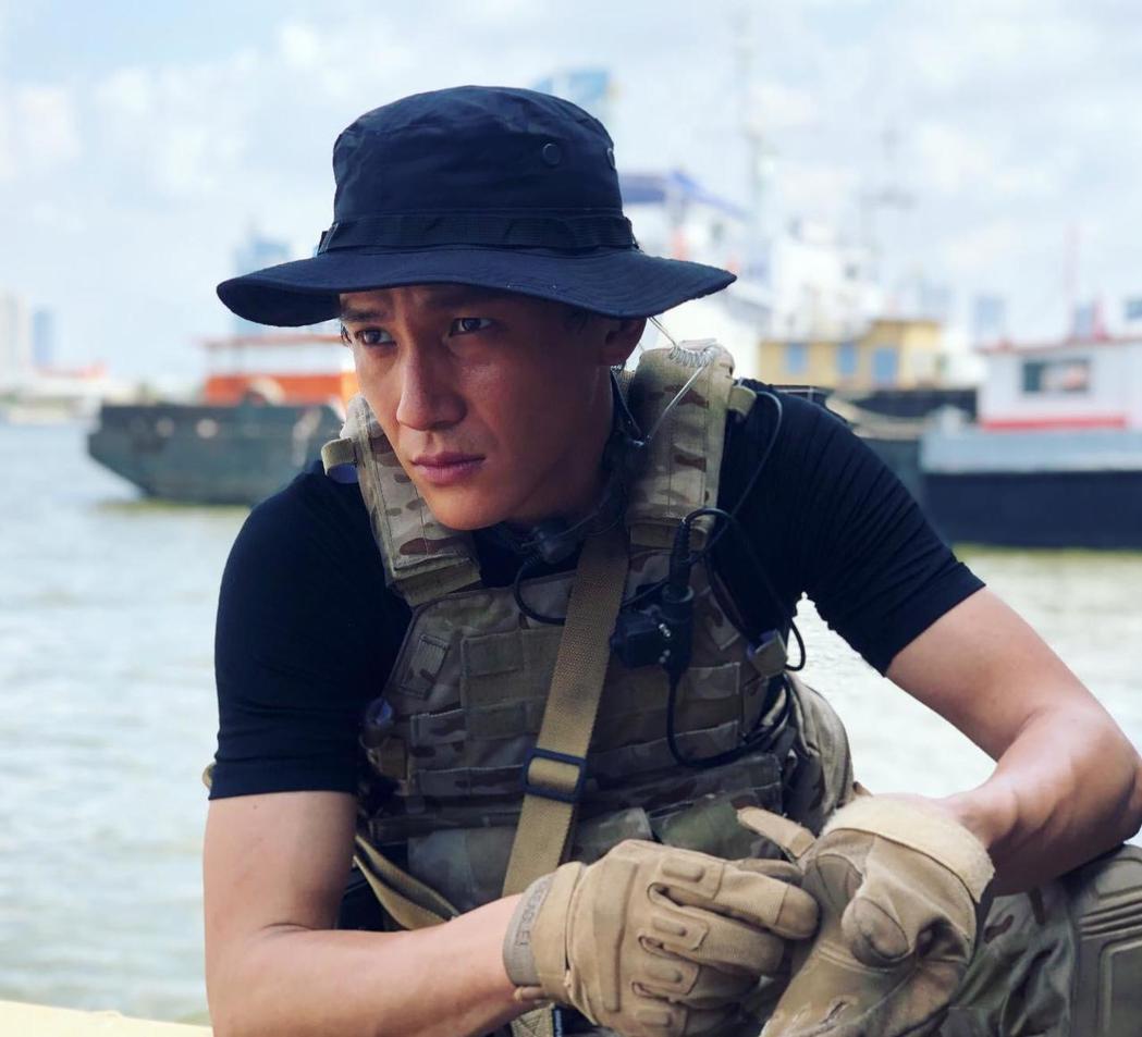 曹晏豪到泰國拍攝「唐人街探案」。圖/曹晏豪提供