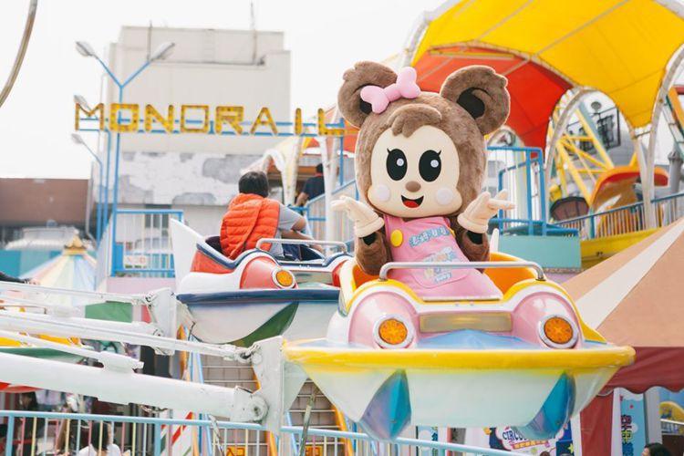 高雄大立百貨「空中樂園」,初一至初五推出10歲以下兒童即可免費玩。圖/摘自大立、...
