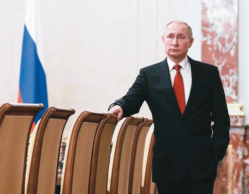 俄羅斯總統普亭。 (歐新社)