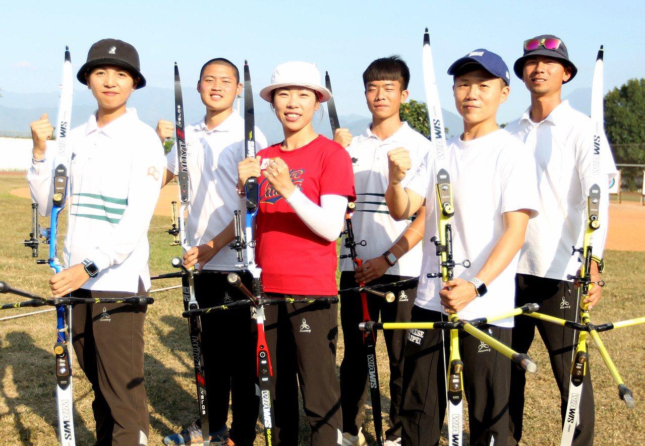東京奧運中華射箭隊國手昨天全部出爐。 圖/中華射箭協會提供