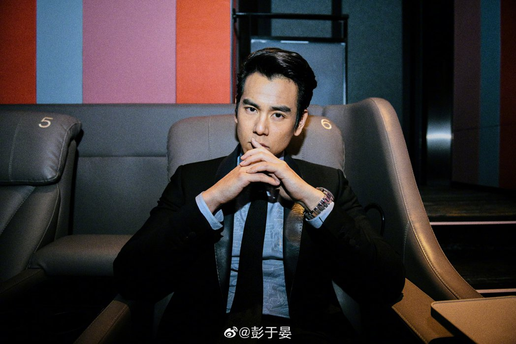 彭于晏。圖/摘自微博