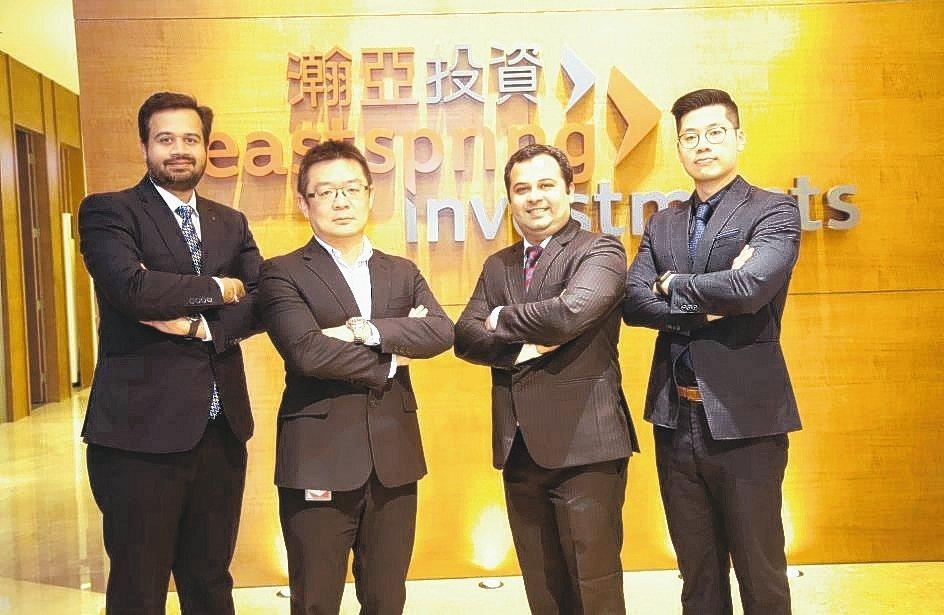ICICI保誠投資組合經理Rajat Chandak(左起)、瀚亞印度基金經理人...