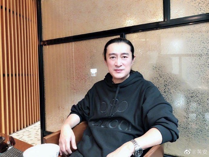 黃安檢舉台獨藝人引發網友不滿。 圖擷自weibo