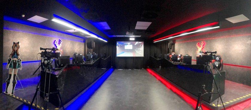 中國科技大學成立全台首間虛擬主播與電競產業實驗室。 校方/提供