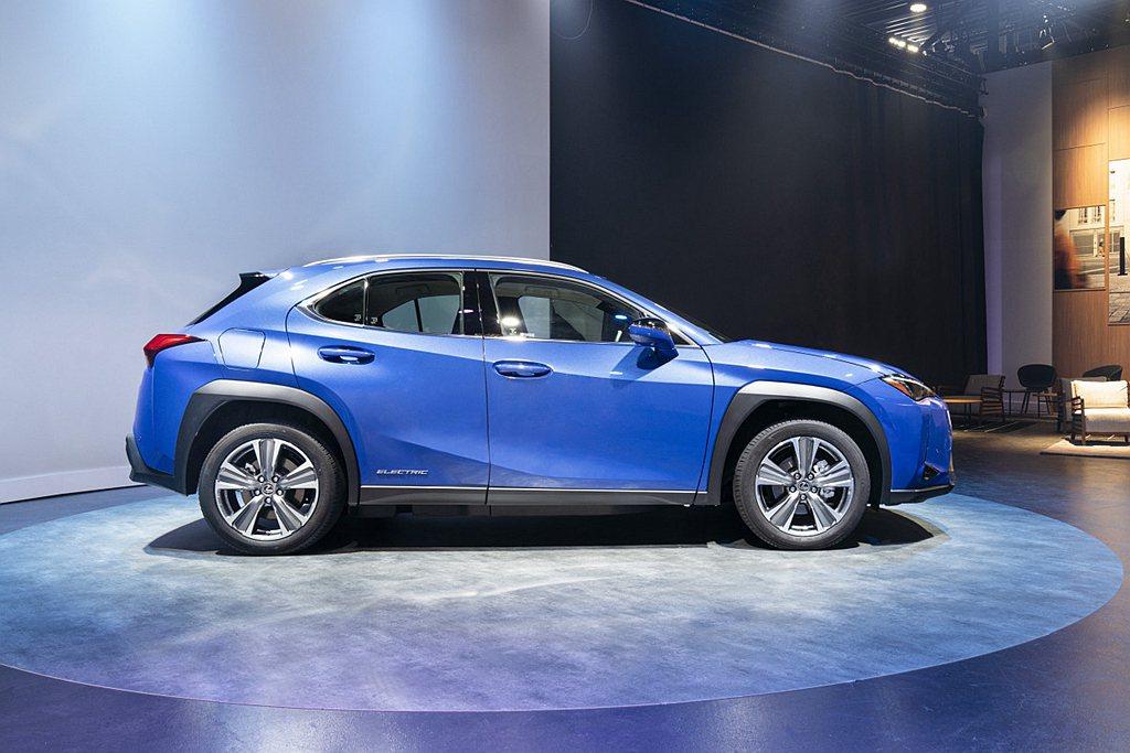 Lexus UX 300e EV搭載150kW(約201hp)馬力、300Nm(...