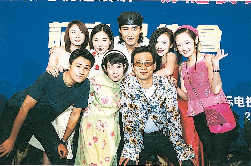 劉若英、陳好、張延、薛佳凝主演的「澀女郎」當年播出後大受歡迎。圖/報系資料照