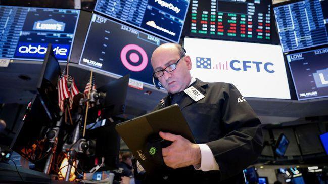 美股去年大漲約30%,企業實施庫藏股是一大拉抬力量。圖/路透