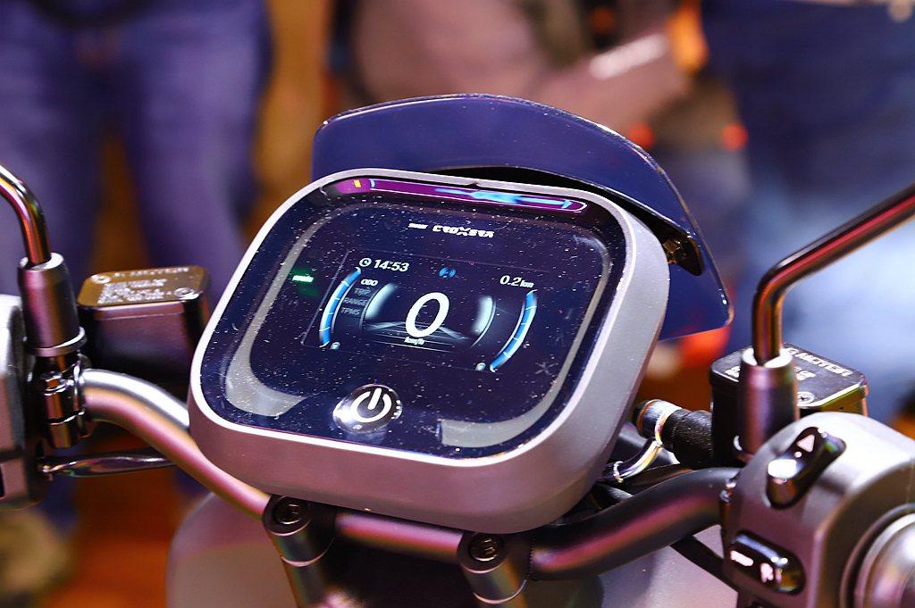 宏佳騰A-1 Comfort+多了許多消費者喜愛的次世代CROXERA智慧儀表。...