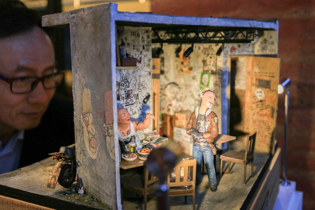 維妙維肖的微縮藝術作品。 攝影/張世雅