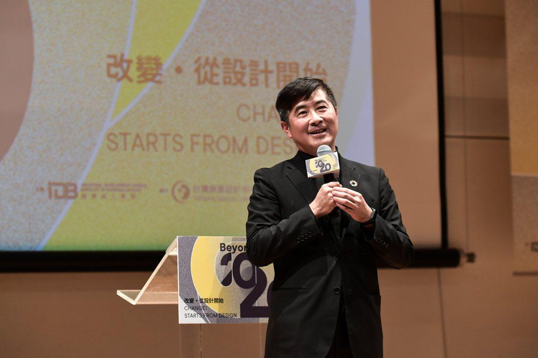 台創董事長張基義強調,要以設計改變台灣.台創/提供