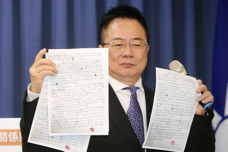 國民黨副秘書長蔡正元。本報資料照片
