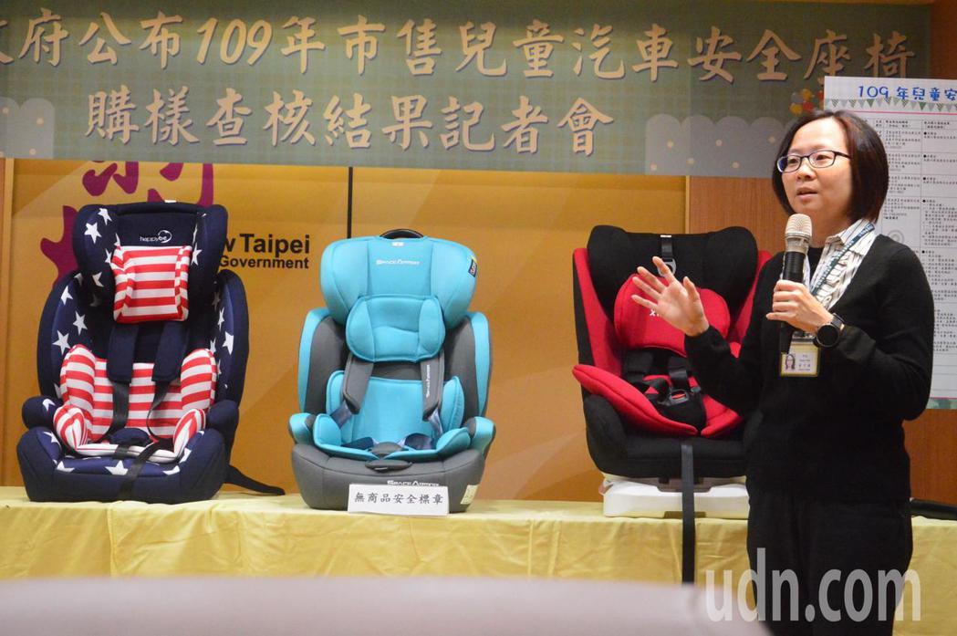 經濟部標準檢驗局股長黃子稹說明為何中國大陸不合格產品會在台灣販售。記者施鴻基/攝...